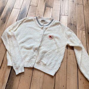 VINTAGE Oversized Cardigan Sweater JETT